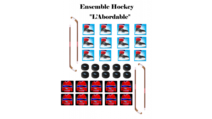 "Ensemble Hockey ""L'Abordable"""