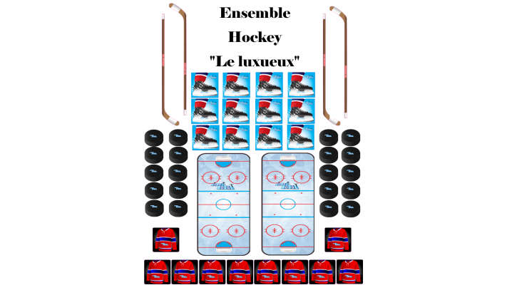 "Ensemble Hockey ""Le Luxueux"""